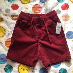 Baby Gap 2T Maroon Shorts NWT